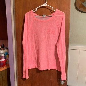 VS Pink sweater sz L